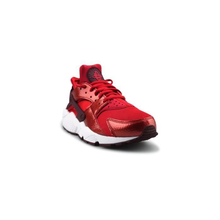 Basket Wmns Nike Air Huarache Run Universite Rouge 634835-605