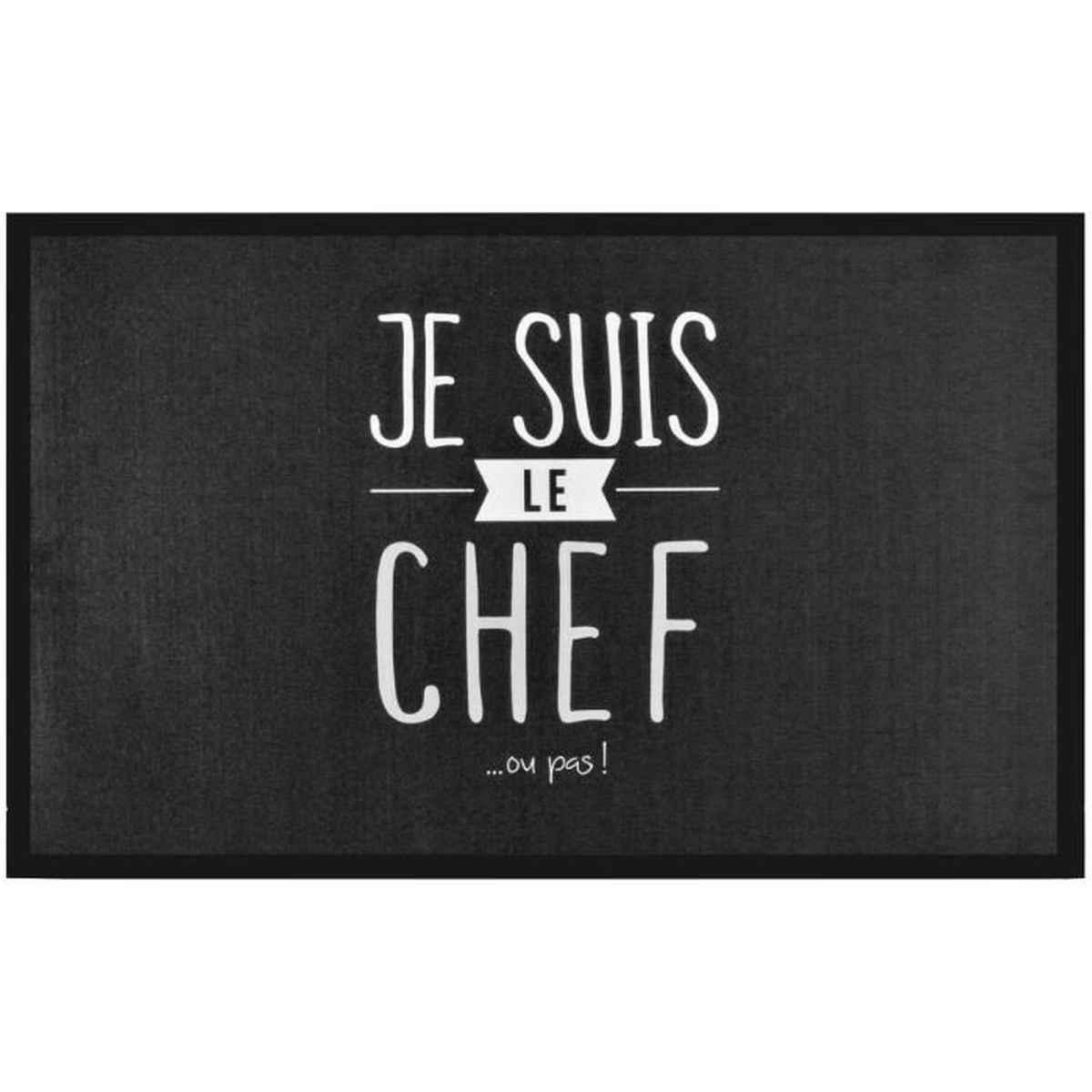 Tapis de cuisine antid rapant collection je suis le chef for Tapis de cuisine carrefour