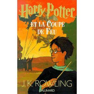 LIVRES ADOLESCENTS Harry Potter et la Coupe de Feu