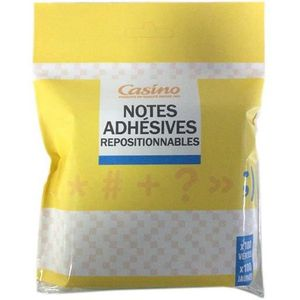 Lot de 2 Notes Adhésives