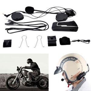 INTERCOM MOTO T9S walkie Bluetooth pour Casque de moto / Kit Mot