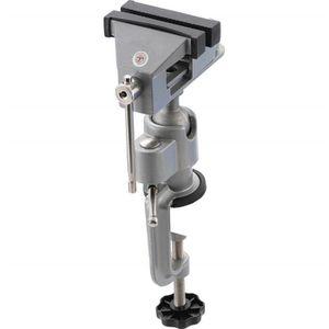 Mini étau de modèle de 60 mm sur bureau d/'établi dessus en acier à base pivotant