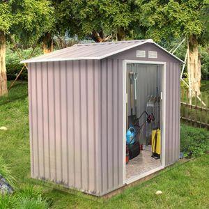 ABRI JARDIN - CHALET Sancy 2.71 m² : abri de jardin en metal anti-corro
