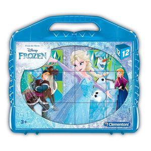 PUZZLE Clementoni - 41186 - Baby Cube Puzzle - Frozen- 1