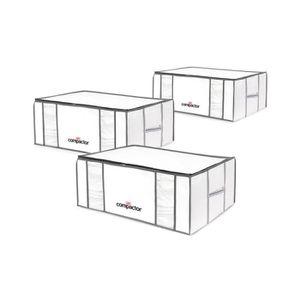 HOUSSE DE RANGEMENT COMPACTOR Lot de 3 housses de rangement sous-vide