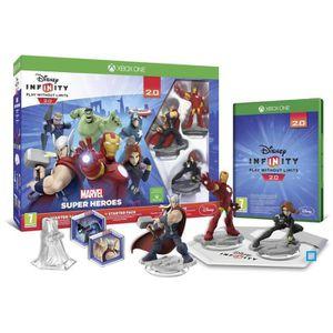 JEU XBOX ONE Disney Infinity 2.0 Marvel Superheroes Starter Pac