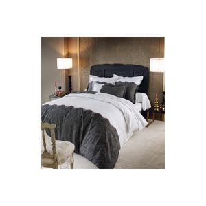 housse couette brodee 200x200 achat vente housse. Black Bedroom Furniture Sets. Home Design Ideas