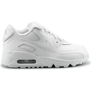 BASKET MULTISPORT Basket Nike Air Max 90 Ltr Enfant Blanc 833414-100