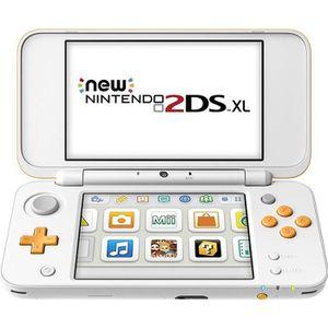 CONSOLE NEW 2DS XL Console Nintendo 2DS XL Blanc + Orange