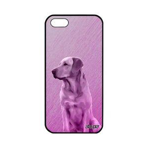 Coque iphone 5s silicone chien
