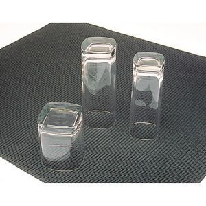TAPIS DE CUISINE Tapis de bar noir en PVC D 3 m
