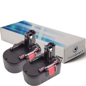 Ni-Cd 2Ah 14.4V Green Cell/® 2607335699 Pack Batterie pour Bosch Outils Sans Fil