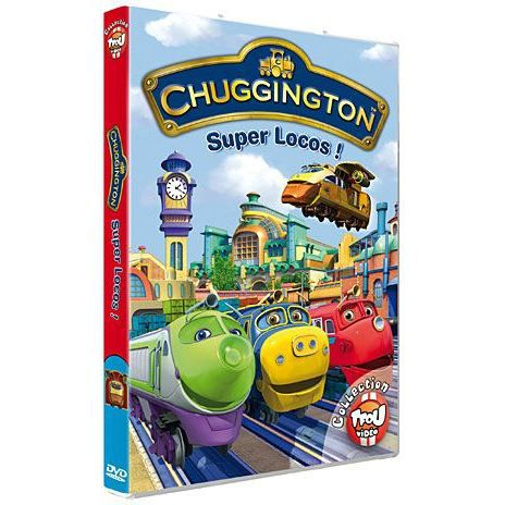 Dvd chuggington vol 2 en dvd dessin anim pas cher ball - Chuggington dessin anime ...