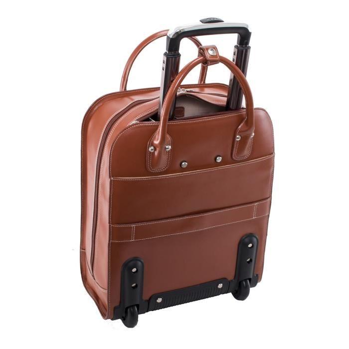 Valise Ou Bagage Vendu Seul DRWW8 Porte-documents à roulettes, cuir, taille moyenne, - Uptown McKlein - 97694