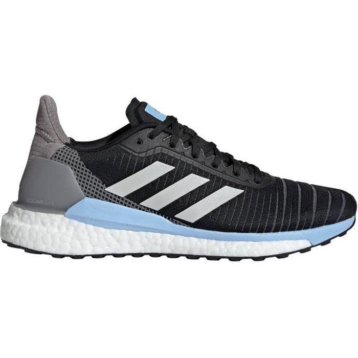 Chaussure de running adidas Solar Glide 19 pour femme, noir