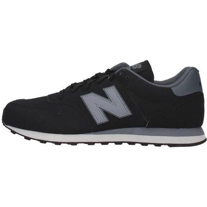 New Balance GM500LA1 chaussures de tennis faible homme NOIR