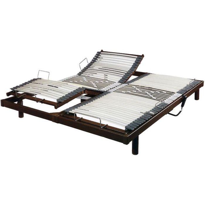 Sommier relaxation électrique S50 2 x 80 x 200 :