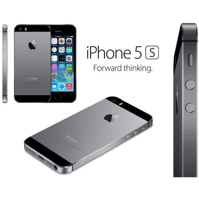 iphone 5 noir reconditionne achat vente iphone 5 noir. Black Bedroom Furniture Sets. Home Design Ideas