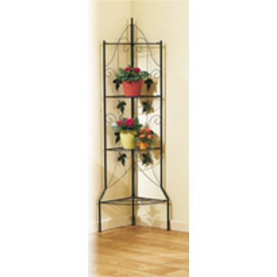 Etagere d 39 angle fer forge achat vente etag re murale for Meuble d angle fer forge