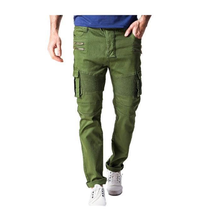 homme chic pantalon chino cargo elastique pants tapered. Black Bedroom Furniture Sets. Home Design Ideas