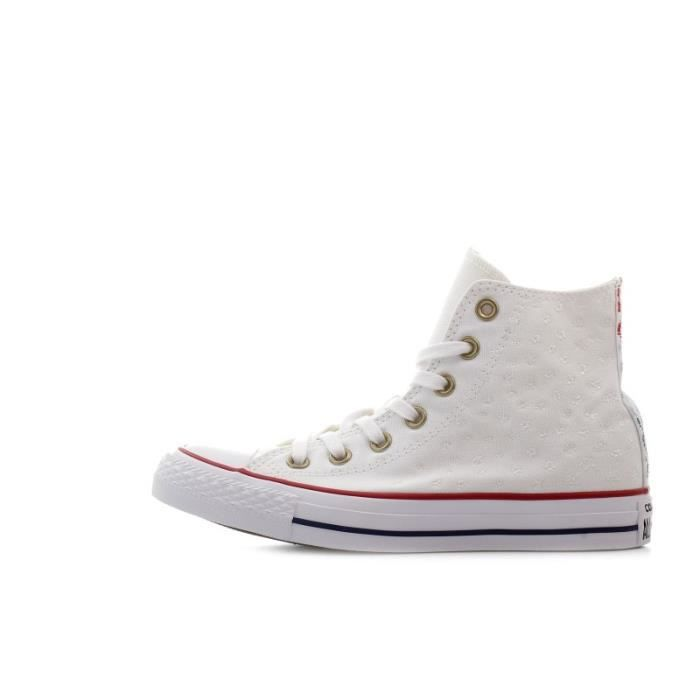 f22a9f6301ed Basket Converse All Star CT Canvas Hi - Ref. 555881C Blanc Blanc ...