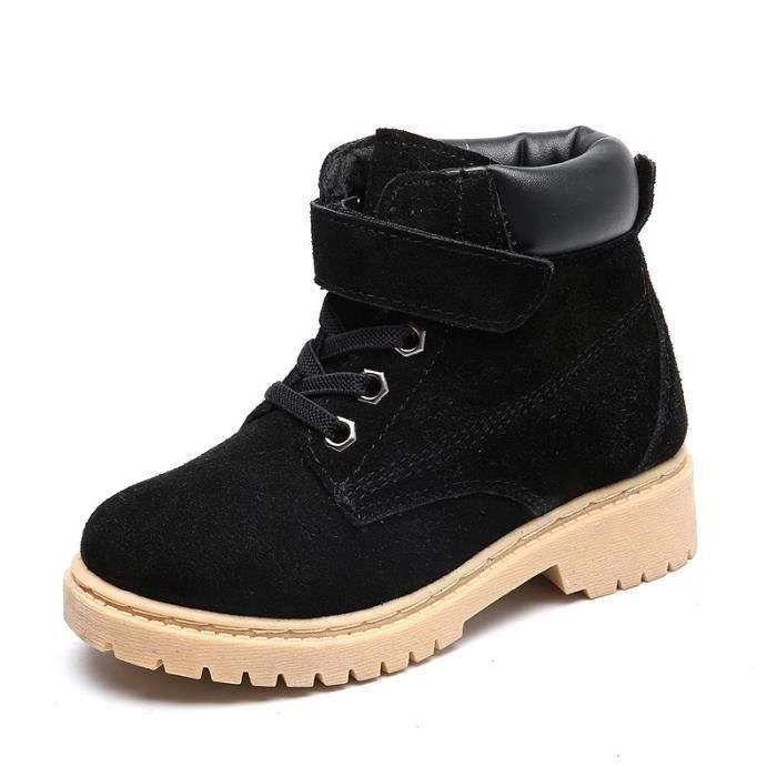 neige de d'hiver chaussures Bottes Martin et de pour enfantsplus veloursgarçons fillesbottes ymn0wvN8O