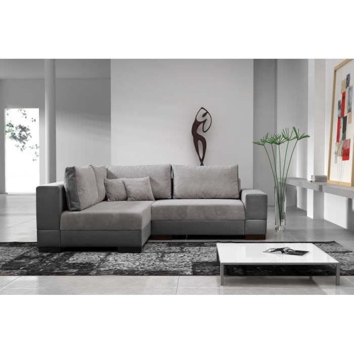 canap lit d 39 angle moretto achat vente canap sofa. Black Bedroom Furniture Sets. Home Design Ideas