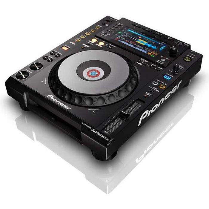 pioneer cdj 900 nexus platine cd mp3 a plat platine dj. Black Bedroom Furniture Sets. Home Design Ideas