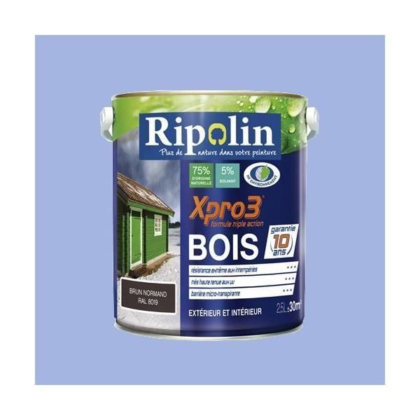 Ripolin Xpro3 Bois Bleu Lavande 2 5 L Achat Vente