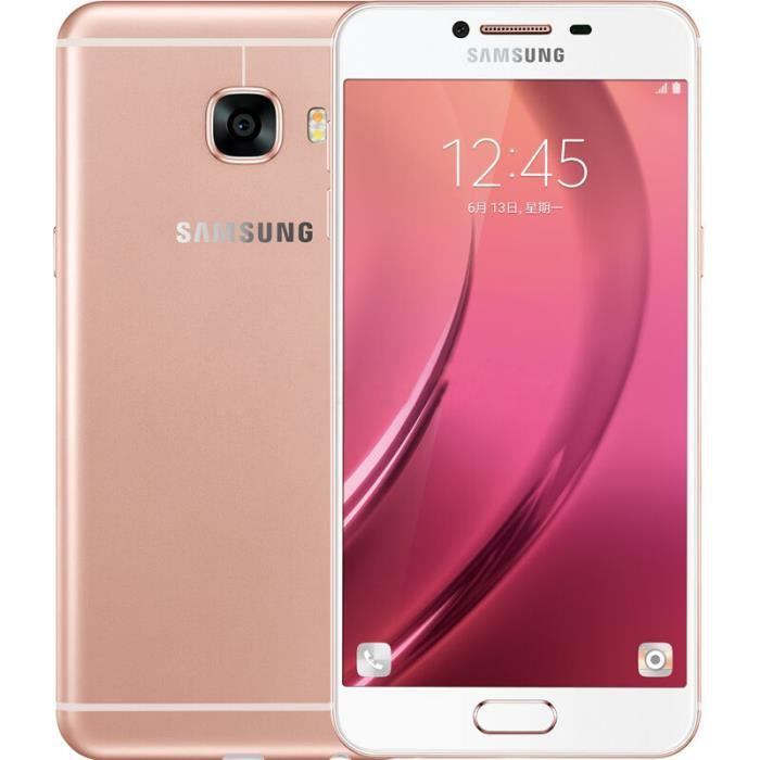 samsung galaxy c5 c5000 t l phone portable debloqu cran de 5 2 pouces dual sim 64g rom 4g ram. Black Bedroom Furniture Sets. Home Design Ideas