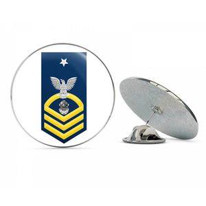 PINCE A CRAVATE Pince A Cravate US Navy principal chef d'or des fe