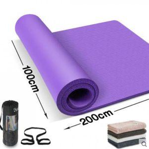 Fitness mad yoga deluxe ceinture /& tapis de sangle de transport facile /& réglable-violet