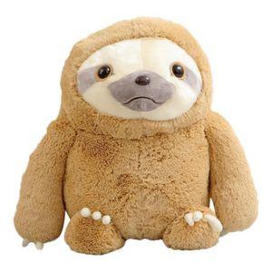 CONSOLE ÉDUCATIVE Cute Cartoon jouets en peluche Kawaii Sloth douce