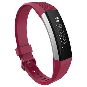 MONTRE Bracelet de luxe en silicone pour bracelet Fitbit
