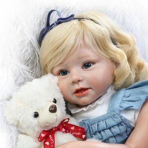 POUPÉE 70 cm silicone vinyle reborn baby doll lifelike sé
