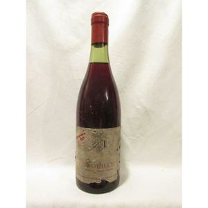 VIN ROUGE brouilly philippe de marencourt rouge années 70 -