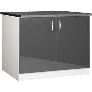 ELEMENTS BAS Meuble cuisine bas 120 cm 2 portes OXANE