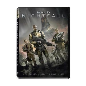 DVD FILM Halo: Nightfall (HALO NIGHTFALL, Importé d'Espagne
