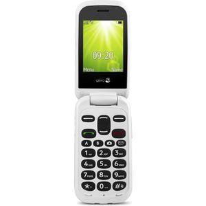 SMARTPHONE Doro 2404, Clapet, SIM unique, 0,3 MP, Bluetooth,