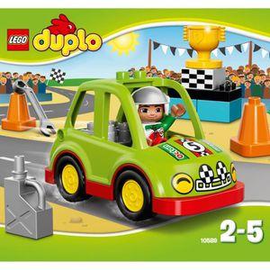 ASSEMBLAGE CONSTRUCTION LEGO® DUPLO 10589 La Voiture de Rallye
