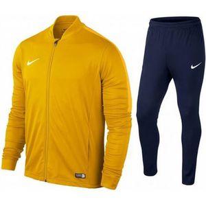 SURVÊTEMENT Nouveau Jogging Homme Nike Swoosh Jaune et Noir