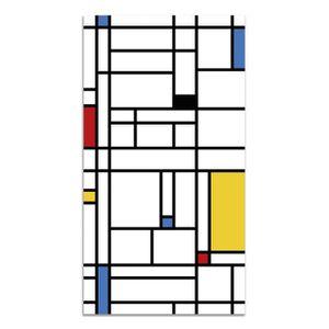 TAPIS Panorama Tapis du sol Vinyle Mondrian 60x110cm - T