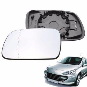 Grand Angle Côté Droit Aile Miroir De Verre Pour Audi TT 2006-2014 Chauffé Plaque