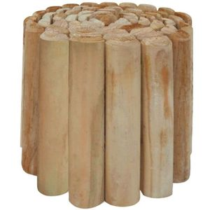 BORDURE vidaXL Rouleau bordure de pelouse Bois de pin impr