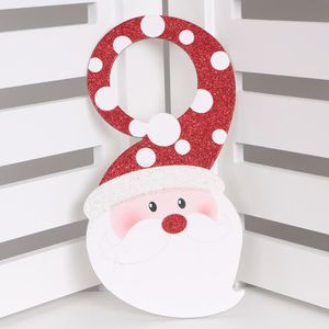 Decoration de noel pour porte achat vente decoration for Decoration porte renne