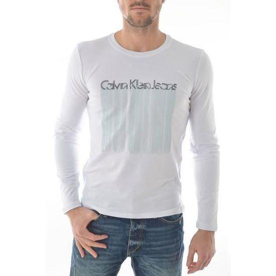 T Shirt Calvin Klein jeans Manche longue Homme