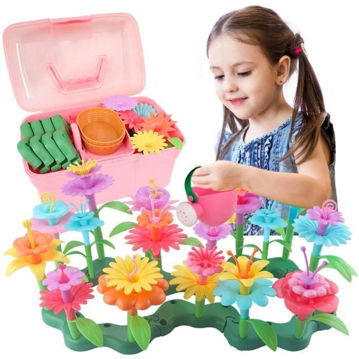 VEHICULE A CONSTRUIRE ENGIN TERRESTRE A CONSTRUIREDreamy Cubby Jouet Fille Age 3 4 5 Ans Cadeau Fille Jardin De Fleurs Jouets 328