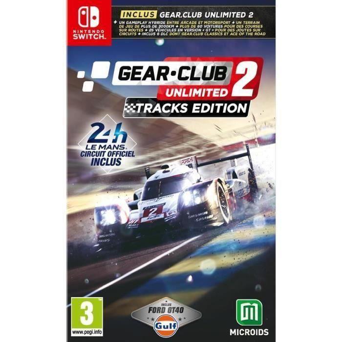 Gear.Club Unlimited 2 Tracks Edition Switch + 1 Porte Clé Offert