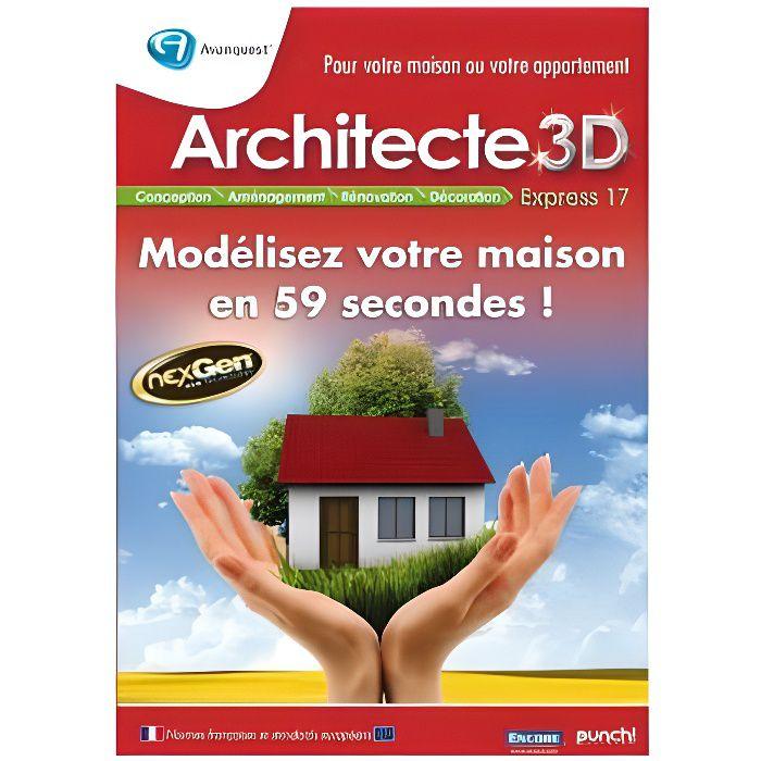 Logiciel PC MICRO APPLICATION Architecte 3D E