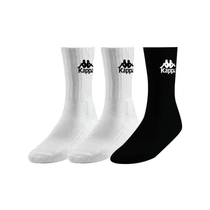 KAPPA - Chaussettes Ailel Authentic Blanc 35-38